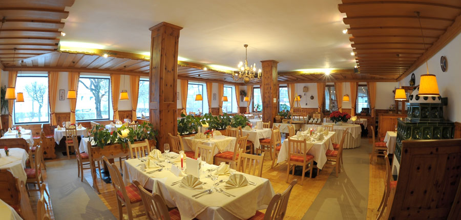 Seehotel Schlick, Fuschl, Salzkammergut, Austria - restaurant interior.jpg